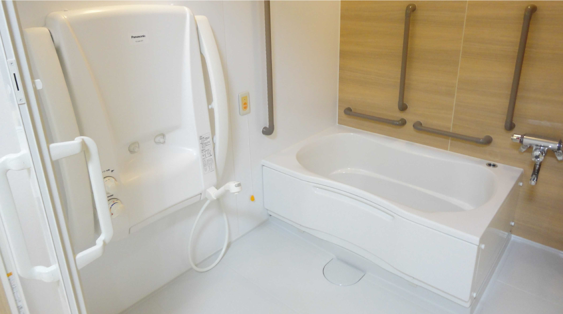 清潔な入浴システム